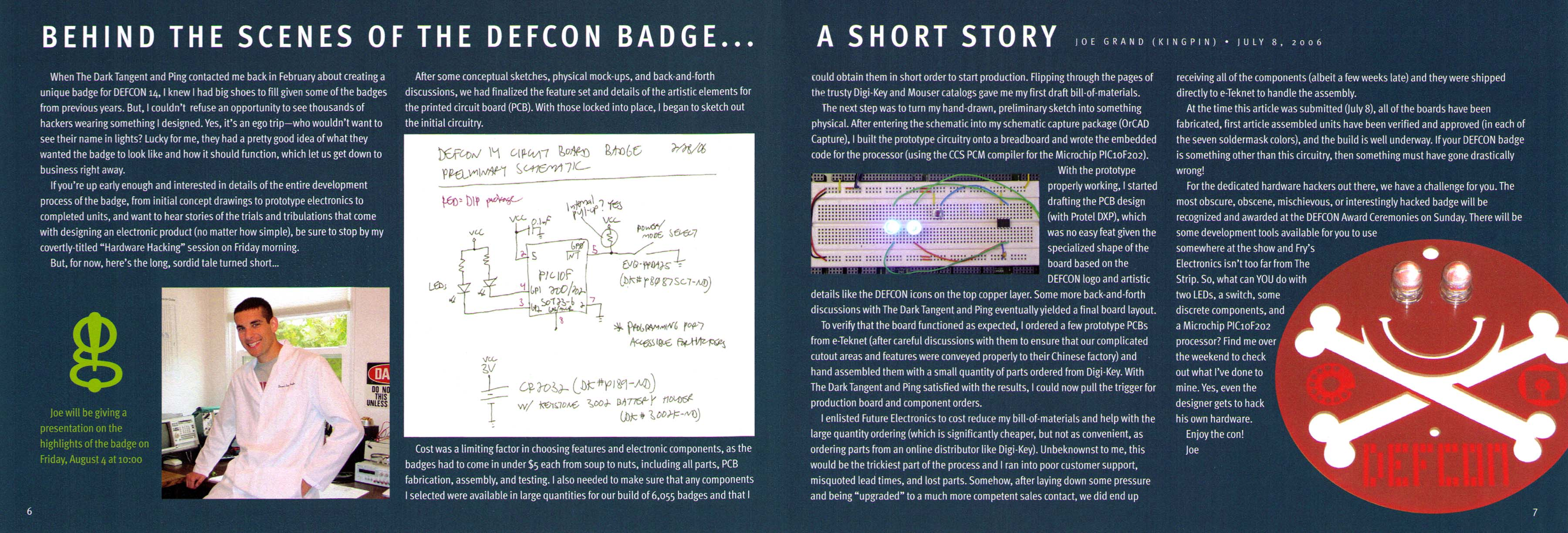Defcon 14 Badge Grand Idea Studio My First Circuit Board Designed Prototyped Assembled By Flickr The Scenes Of